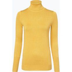 Marie Lund - Sweter damski, żółty. Żółte golfy damskie Marie Lund, l, z dzianiny. Za 129,95 zł.