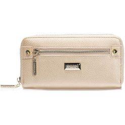 Portfele damskie: Elegancki portfel z suwakiem 20cm x 9cm