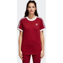 Koszulka W adidas 3-Stripes (CY4752). Brązowe bluzki damskie Adidas, z bawełny. Za 79,99 zł.
