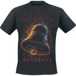 AC/DC Hells Bells T-Shirt czarny. Czarne t-shirty męskie z nadrukiem AC/DC, xxl, z okrągłym kołnierzem. Za 89,90 zł.