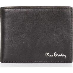EKSKLUZYWNY SKÓRZANY PORTFEL MĘSKI PIERRE CARDIN. Czarne portfele męskie Pierre Cardin, ze skóry. Za 139,00 zł.