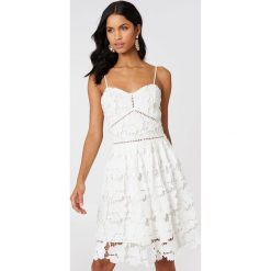 Sukienki hiszpanki: Rut&Circle Sukienka z koronki - White