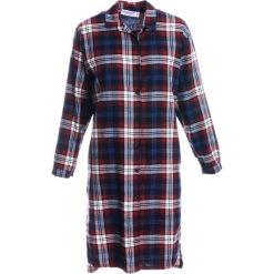 Koszula - 90-6827 BLU. Niebieskie koszule wiązane damskie Unisono, na jesień, m, z bawełny, klasyczne, z klasycznym kołnierzykiem. Za 79,00 zł.