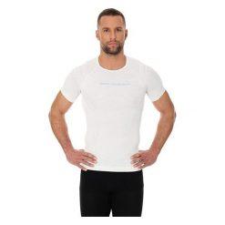 Koszulki sportowe męskie: Brubeck Koszulka męska 3D Bike PRO z krótkim rękawem biała M (SS11930)