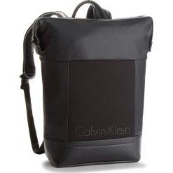 Plecak CALVIN KLEIN BLACK LABEL - Caillou Backpack K50K502842 001. Czarne plecaki męskie marki Calvin Klein Black Label, z materiału. Za 599,00 zł.