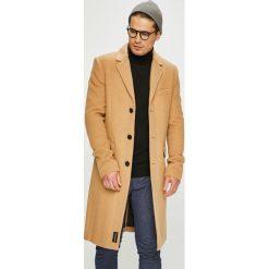 Calvin Klein Jeans - Płaszcz. Brązowe płaszcze na zamek męskie Calvin Klein Jeans, l, z jeansu, klasyczne. Za 1399,00 zł.