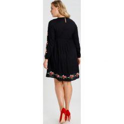 Sukienki hiszpanki: Evans EMBROIDERED SKATER Sukienka letnia black