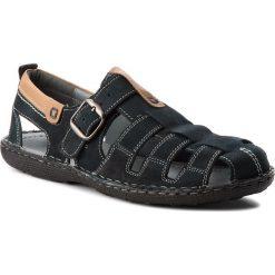Sandały męskie: Sandały LASOCKI FOR MEN – MI08-448-51-01 Granatowy