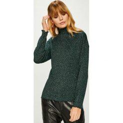 Answear - Sweter. Szare swetry klasyczne damskie ANSWEAR, l, z dzianiny. W wyprzedaży za 59,90 zł.