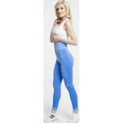 Gym Hero - Legginsy Baby Blue. Niebieskie legginsy skórzane Gym Hero, l. Za 189,90 zł.