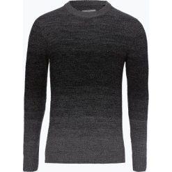Jack & Jones - Sweter męski – Jortwin, szary. Czarne swetry klasyczne męskie marki Jack & Jones, l, z bawełny, z klasycznym kołnierzykiem, z długim rękawem. Za 99,95 zł.