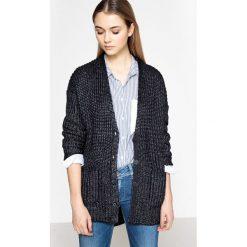 Swetry damskie: Kardigan z dekoltem w szpic