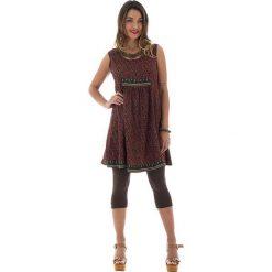 Odzież damska: Sukienka w kolorze czerwono-czarnym