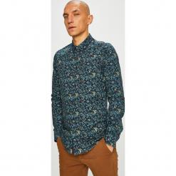 Medicine - Koszula Scottish Modernity. Szare koszule męskie na spinki MEDICINE, l, z bawełny, z klasycznym kołnierzykiem, z długim rękawem. Za 149,90 zł.