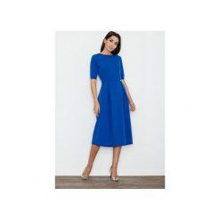 Sukienki: Sukienka M553 Niebieski