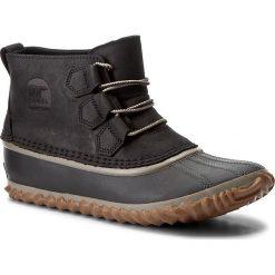 Botki SOREL - Out N About NL2133 Black 012. Czarne buty zimowe damskie Sorel, z gumy. W wyprzedaży za 309,00 zł.