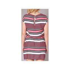 Sukienki krótkie Bench  BLWS001962. Czerwone sukienki mini Bench, s, z krótkim rękawem. Za 216,30 zł.