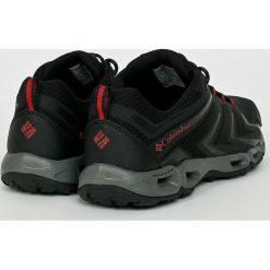 Columbia - Buty Ventralia 3 Low. Czarne buty trekkingowe męskie Columbia, z materiału, na sznurówki, outdoorowe. W wyprzedaży za 299,90 zł.