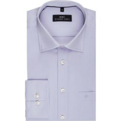 Koszula SIMONE KDFR000002. Szare koszule męskie na spinki marki S.Oliver, l, z bawełny, z włoskim kołnierzykiem, z długim rękawem. Za 199,00 zł.