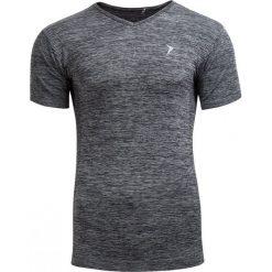 Koszulka treningowa męska TSMF601 - GRAFIT MELANŻ - Outhorn. Szare odzież termoaktywna męska Outhorn, m, melanż, z materiału. W wyprzedaży za 41,99 zł.