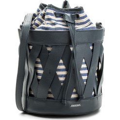 Torebka MONNARI - BAG5430-013 Navy. Szare torebki klasyczne damskie marki Monnari, w paski, z materiału, duże. W wyprzedaży za 129,00 zł.