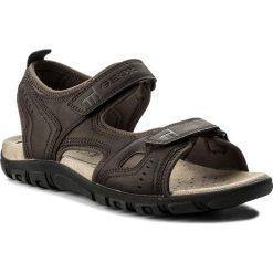 Sandały GEOX - U S. Strada A U4224A 000BC C6024 Dk Coffee. Brązowe sandały męskie skórzane Geox. W wyprzedaży za 199,00 zł.