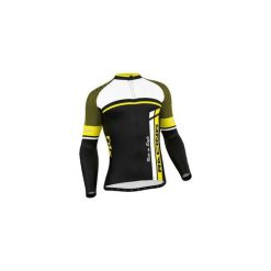 Bluza rowerowa męska FDX Cycling Thermal Long Sleeve Jersey M. Czarne bejsbolówki męskie FDX, l, z jersey, rowerowe. Za 219,90 zł.