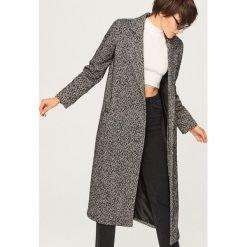 Szary płaszcz w jodełkę - Wielobarwn. Szare płaszcze damskie marki DOMYOS, z bawełny. Za 299,99 zł.