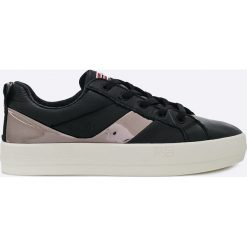 Napapijri - Buty Dahlia. Szare buty sportowe damskie marki Napapijri, z gumy. W wyprzedaży za 219,90 zł.