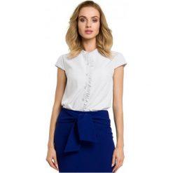 Made Of Emotion Bluzka Damska M Biały. Białe bluzki wizytowe Made Of Emotion, m, z materiału, eleganckie, z krótkim rękawem. W wyprzedaży za 159,00 zł.