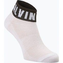 Calvin Klein - Skarpety damskie, czarny. Czarne skarpetki damskie Calvin Klein, z bawełny. Za 34,95 zł.