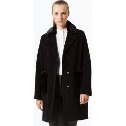 Marie Lund - Płaszcz damski z dodatkiem kaszmiru, czarny. Czarne płaszcze damskie pastelowe Marie Lund, z kaszmiru, klasyczne. Za 999,95 zł.