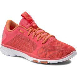 Buty ASICS - Gel-Fit Tempo 3 S752N Diva Pink/Silver/Melon 2093. Czerwone buty do fitnessu damskie Asics, z materiału. W wyprzedaży za 209,00 zł.