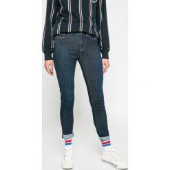 Tommy Hilfiger - Jeansy Lauren. Niebieskie jeansy damskie rurki marki TOMMY HILFIGER, z bawełny. W wyprzedaży za 299,90 zł.