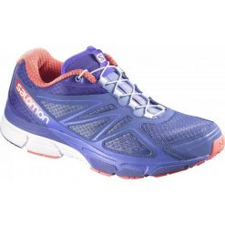 Buty sportowe damskie: Salomon Buty Do Biegania X-Scream 3d W Stormy Purple/Black/Papaya 38.0