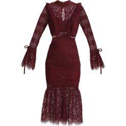 Sukienki hiszpanki: True Decadence Sukienka koktajlowa plum