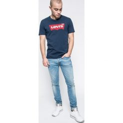Levi's - Jeansy 501. Brązowe jeansy męskie skinny Levi's®, z bawełny. W wyprzedaży za 329,90 zł.