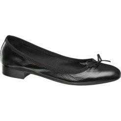 Baleriny damskie lakierowane: baleriny damskie 5th Avenue czarne