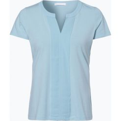 BOSS - T-shirt damski – Enka_EoSP, niebieski. Niebieskie t-shirty damskie Boss, l, z dżerseju. Za 299,95 zł.