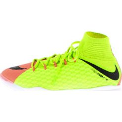 Nike Performance HYPERVENOMX PROXIMO 2 DF IC Halówki electric green/black/hyper orange/volt/bright mango. Zielone buty skate męskie marki Nike Performance, z gumy, do piłki nożnej. W wyprzedaży za 356,85 zł.