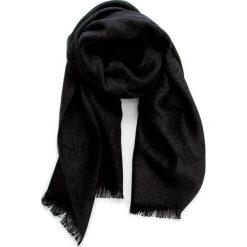 Szal CALVIN KLEIN BLACK LABEL - Logo 2 Scarf K50K501349 001. Czarne szaliki damskie marki Calvin Klein Black Label, z materiału. W wyprzedaży za 199,00 zł.