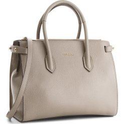 Torebka FURLA - Pin 942230 B BLS1 OAS Sabbia b. Szare torebki klasyczne damskie Furla, ze skóry. Za 1440,00 zł.