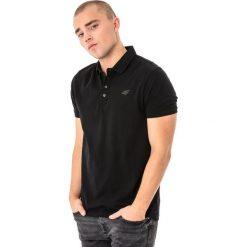 Koszulki polo: 4f Koszulka polo męska H4L18-TSM024 czarna r. M