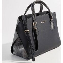 Torba City Bag z motywem zwierzęcym - Czarny. Czarne torebki klasyczne damskie Mohito, z motywem zwierzęcym. Za 129,99 zł.
