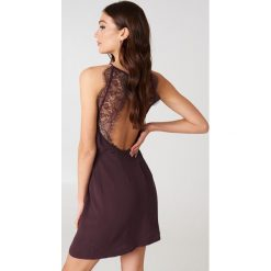 Sukienki hiszpanki: Samsoe & Samsoe Krótka sukienka Willow – Purple