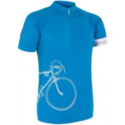 Sensor Męska Koszulka Z Krótkim Rękawem Cyklo Tour Blue. Niebieskie odzież rowerowa męska Sensor, m, z lycry, z krótkim rękawem, rowerowe. W wyprzedaży za 149,00 zł.