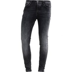 Cars Jeans SKINNY DUST Jeans Skinny Fit black. Czarne jeansy męskie relaxed fit marki Criminal Damage. Za 249,00 zł.