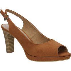 SANDAŁY S.OLIVER 5-29603-36. Brązowe sandały damskie S.Oliver. Za 129,99 zł.