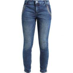 Mos Mosh Jeansy Slim Fit blue denim. Niebieskie rurki damskie Mos Mosh. W wyprzedaży za 519,20 zł.