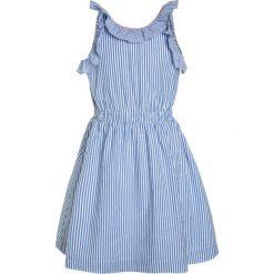 Sukienki dziewczęce letnie: J.CREW KATIA STRIPED RUFFLE DRESS Sukienka letnia white